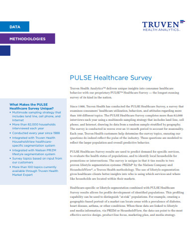 pulse healthcare survey