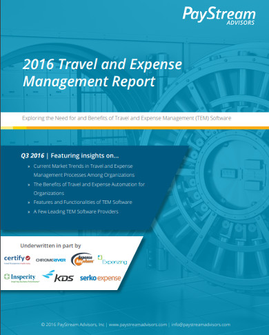real estate expense management report