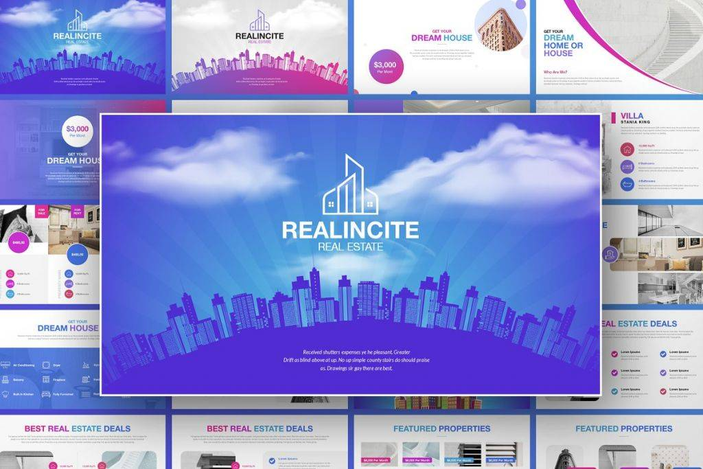 real estate marketing presentation template 1024x683
