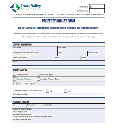 real estate property enquiry form