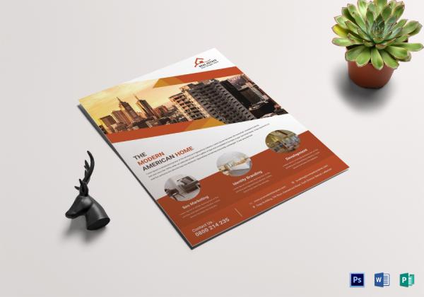 real estate sale flyer