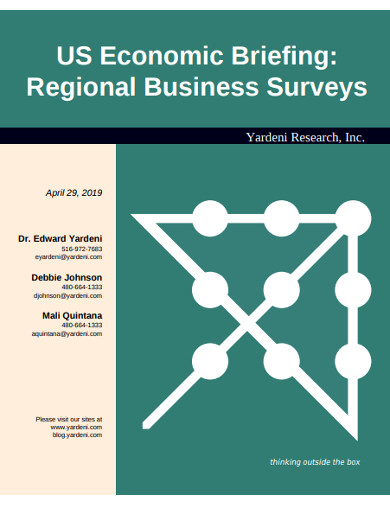 regional business surveys