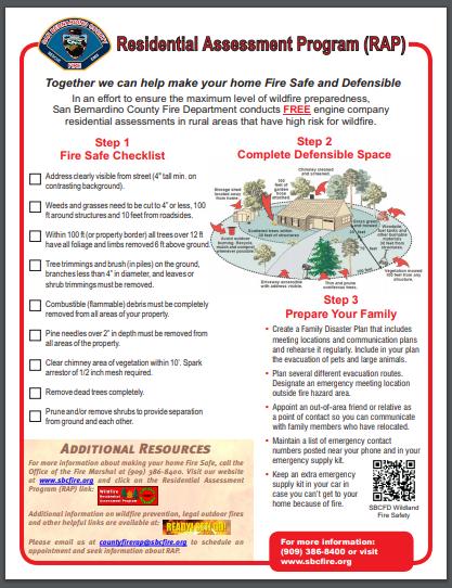 residential assessment program
