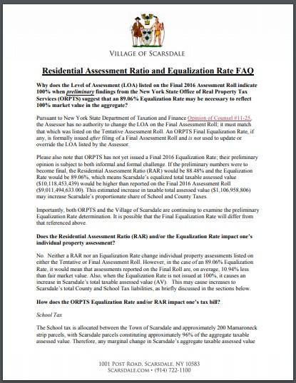 residential assessment ratio