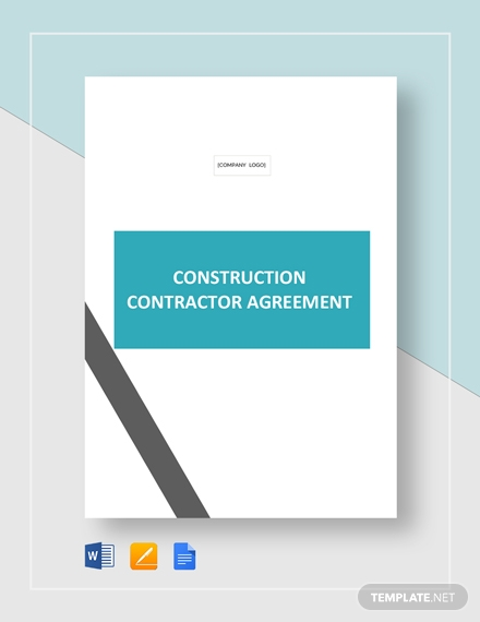 residential construction contractor contract