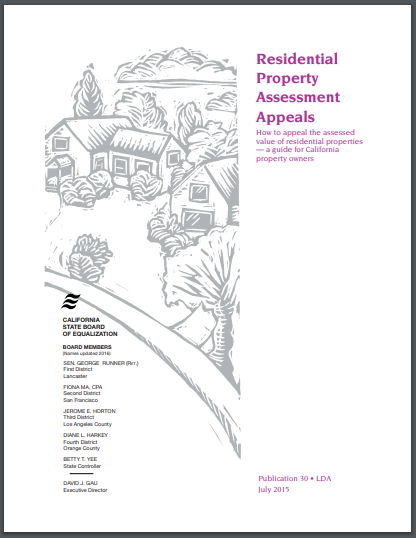 residential property assessment appeal