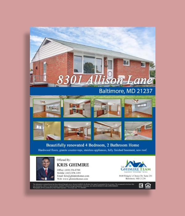 residential real estate flyer