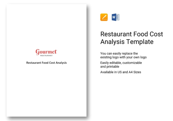 restaurant cost analysis