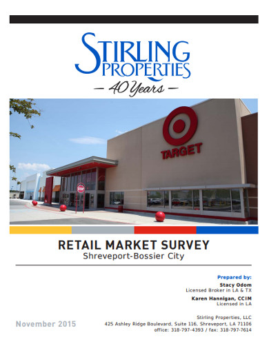 retail market survey