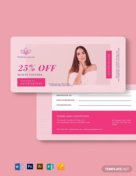 romantic love voucher template for her