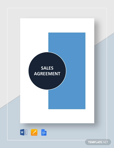 sales agreement template