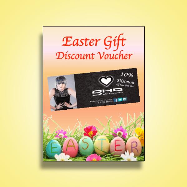 salon easter discount voucher