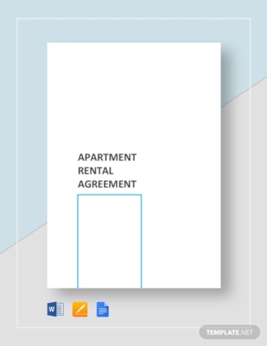 sample apartment rental agreement