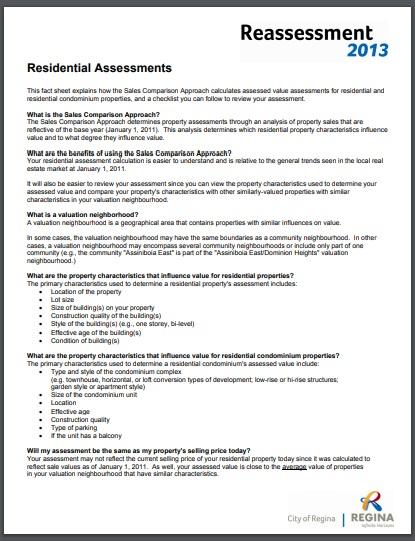 sample detailed residential assessment