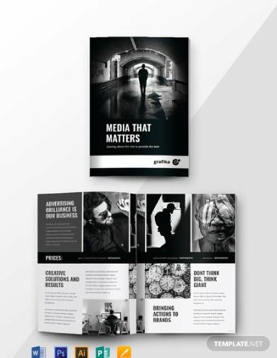 simple advertising catalog