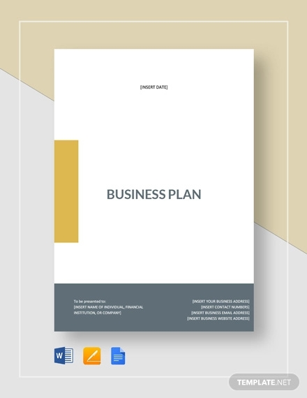 Free 28 Simple Business Plan Examples In Pdf Word Pages