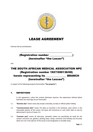 simple medical office lease agreement