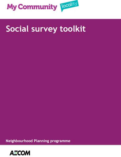 social survey toolkit