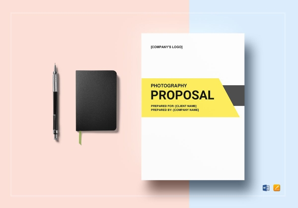 standard photography proposal