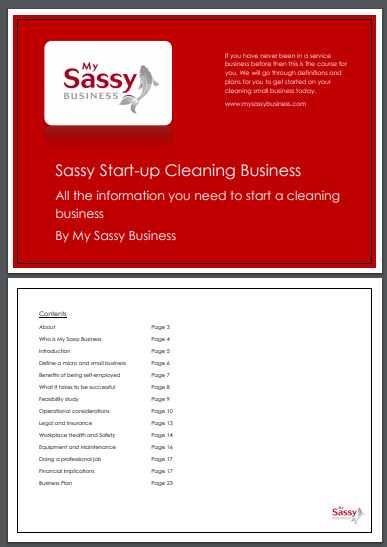 start up cleaning service business plan