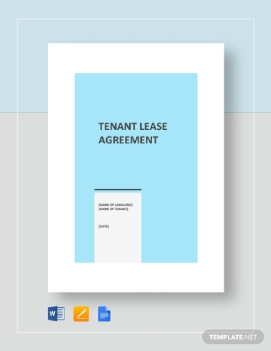 tenant lease agreement