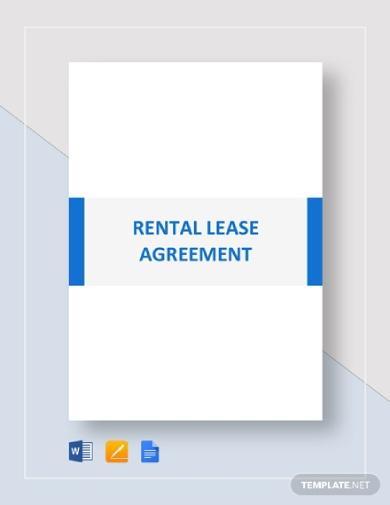 tenant rental lease agreement
