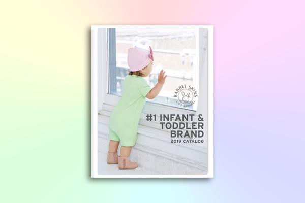 toddler fashion and lifestyle advertising catalog