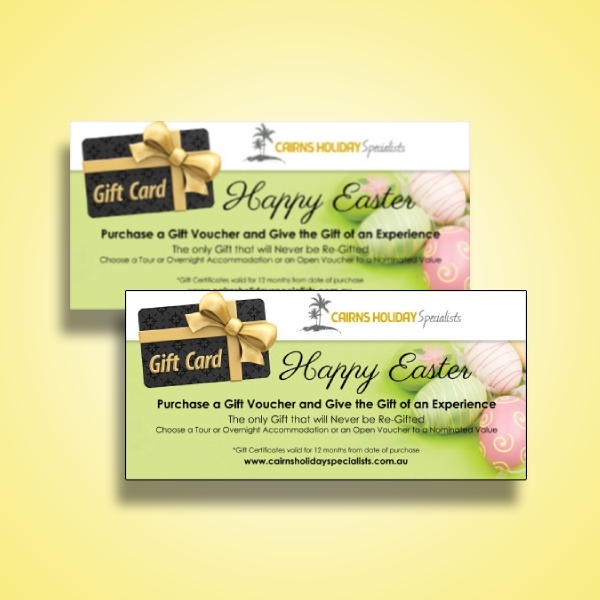 travel and tours easter voucher