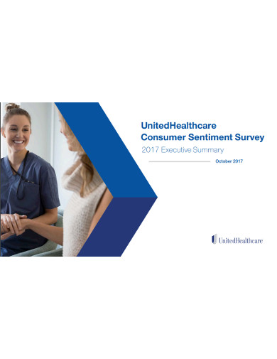united healthcare consumer sentiment survey