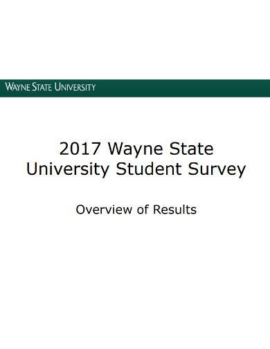 university student survey