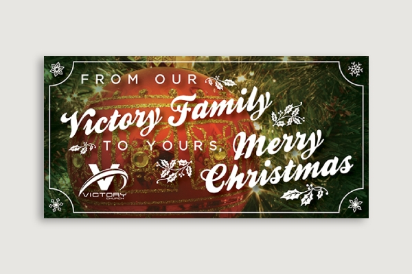 victory church christmas banner