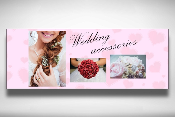 wedding accessories facebook cover
