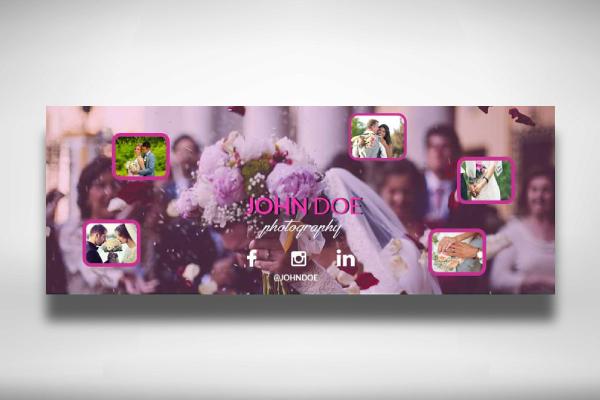wedding photography facebook cover