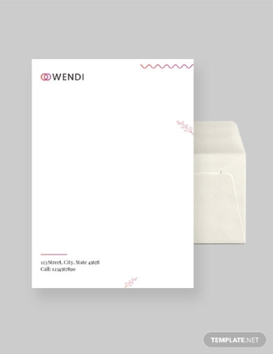 wedding planners envelope