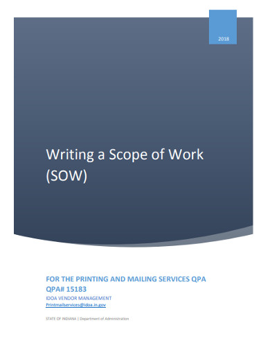 writing a scope of work1