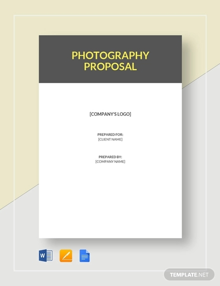 14+ Photography Proposal Examples - PDF, DOC, PSD, AI, Pages | Examples