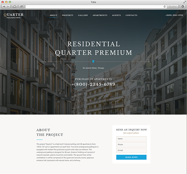 FREE 18+ Best Real Estate Landing Page Examples & Templates [Download Now]  Examples