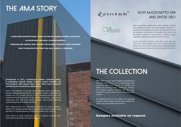 ama new collection brochure