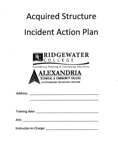 acqured structure incident actin plan
