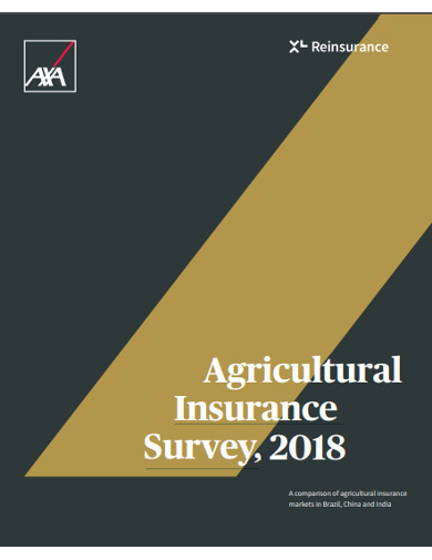 agricultural insurance survey
