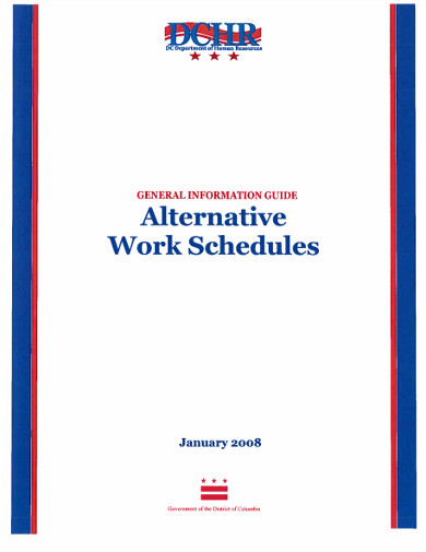 alternative work schedule