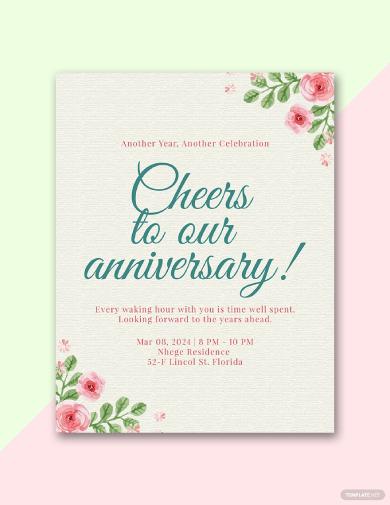 anniversary program