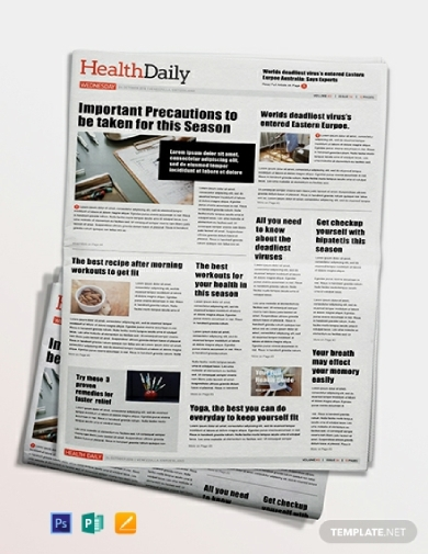 basic health newspaper