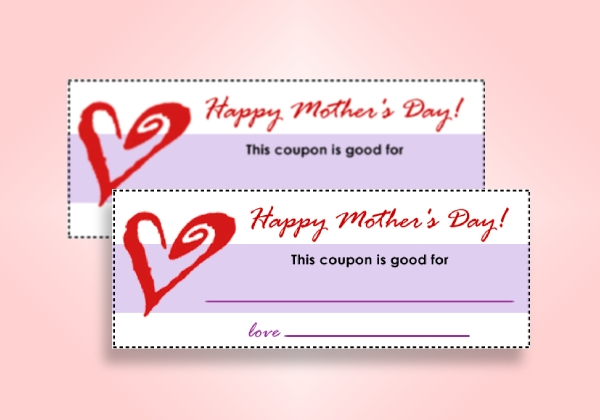 basic mothers day coupon