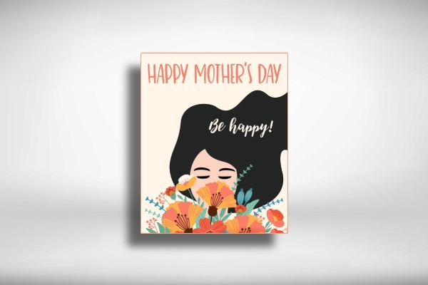 beautiful mothers day greeting card