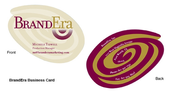 brandera marketing logo and letterhead