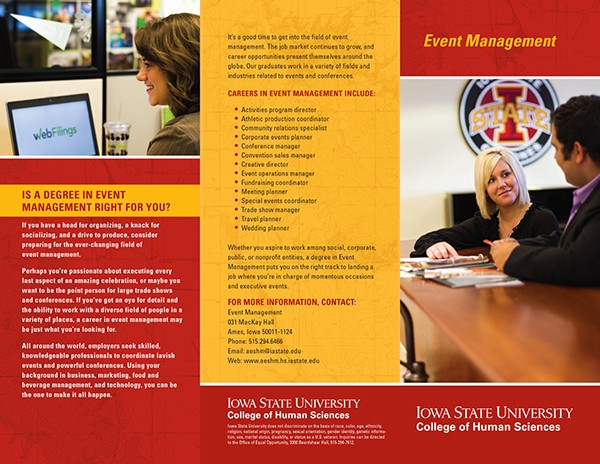 brochure event management