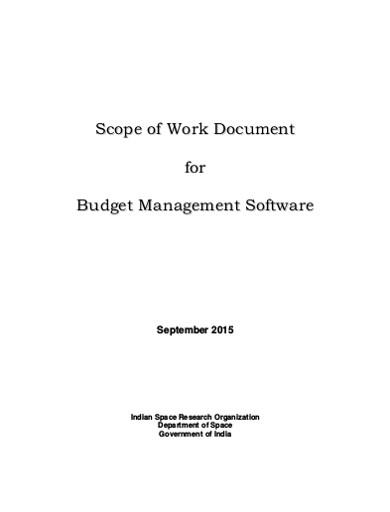 budget management software
