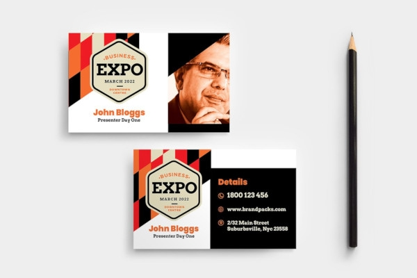 business event card