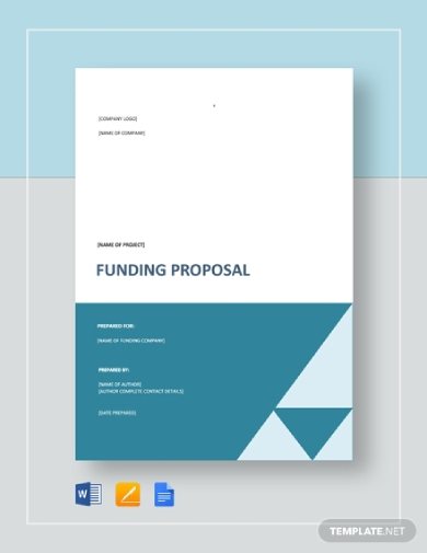 business funding project proposal